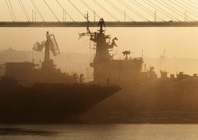 俄滨海边疆区受到来自蒙古和中国的沙尘暴侵袭