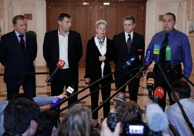欧安组织:顿巴斯问题工作组分组在明斯克奠定谈判基础