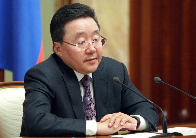 蒙古国总统额勒贝格道尔吉