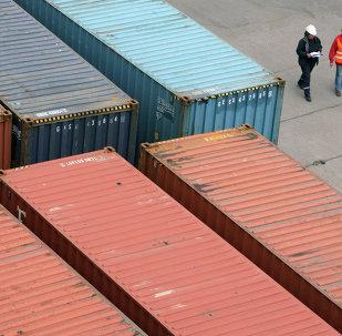 中国东宁对俄口岸货运通道开始实行每周7天工作制