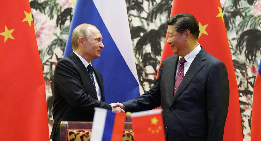 普京:俄中關係達到前所未有的高水平