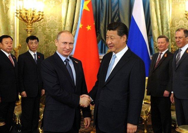 俄电视台播出基于对普京与习近平采访的纪录片