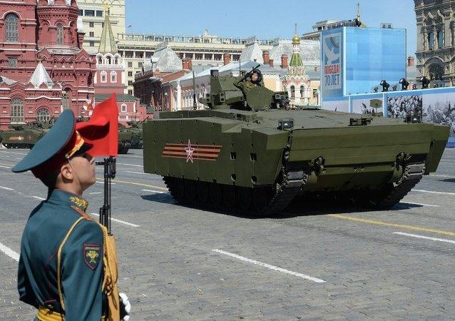 胜利日阅兵式最后彩排将于5月7日在红场举行