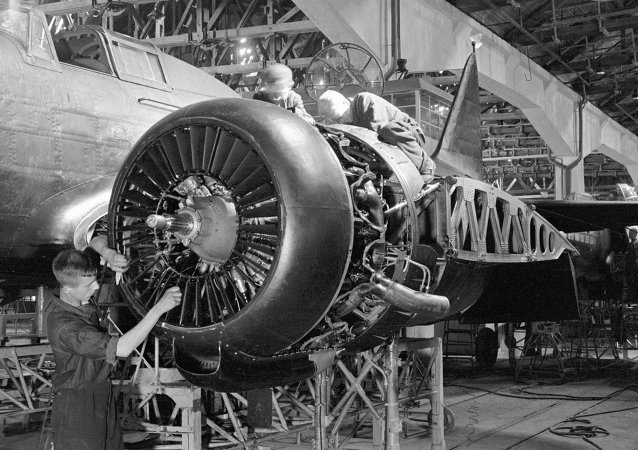 蘇聯製造飛機的工廠(偉大衛國戰爭時期圖片)