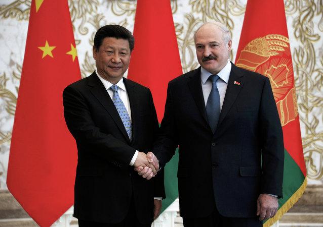 """习近平:中方视白俄罗斯为共建""""一带一路""""的重要伙伴"""