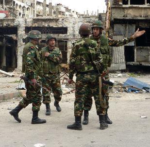 消息人士:叙利亚军队解放了伊国在霍姆斯省最大据点Al-Suhne市