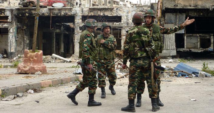 消息人士:敘利亞軍隊解放了伊國在霍姆斯省最大據點Al-Suhne市