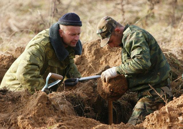 首个俄中搜寻考察团在中国启动