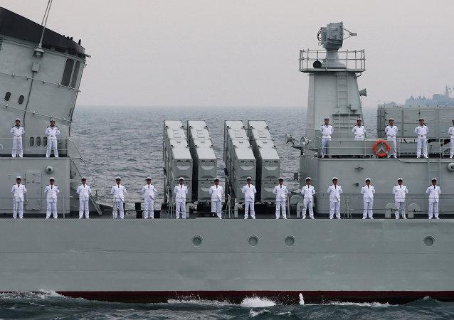 俄中军舰抵达博斯普鲁斯海峡和达达尼尔海峡