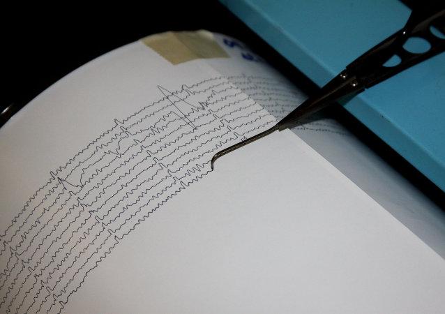 日本附近太平洋海域发生里氏5.3级地震