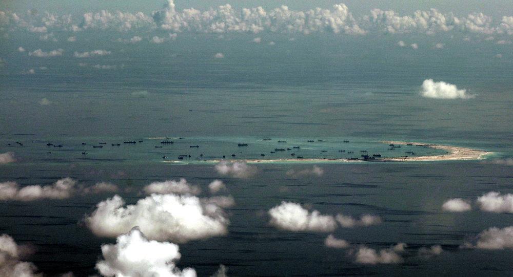美国或向南沙群岛派遣舰机以控制航运