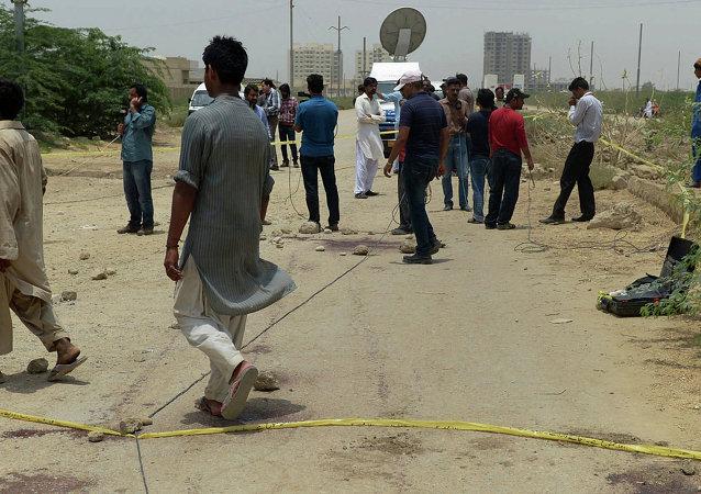 """""""伊斯兰国""""组织宣布将对巴基斯坦恐怖袭击事件负责"""