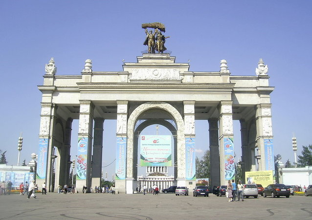 全俄展览中心的主入口