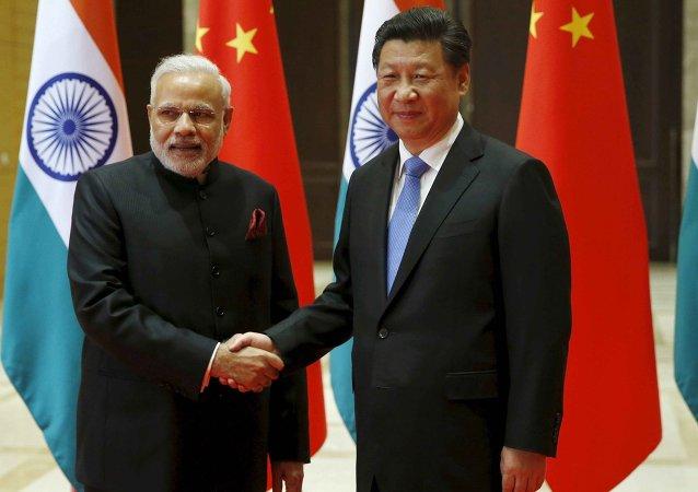 印度总理与习近平讨论贸易逆差和投资环境等问题