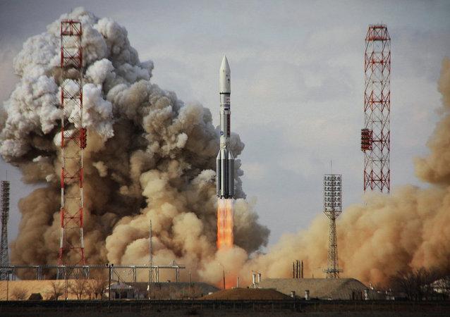 俄航天署对质子M号运载火箭发射故障展开调查