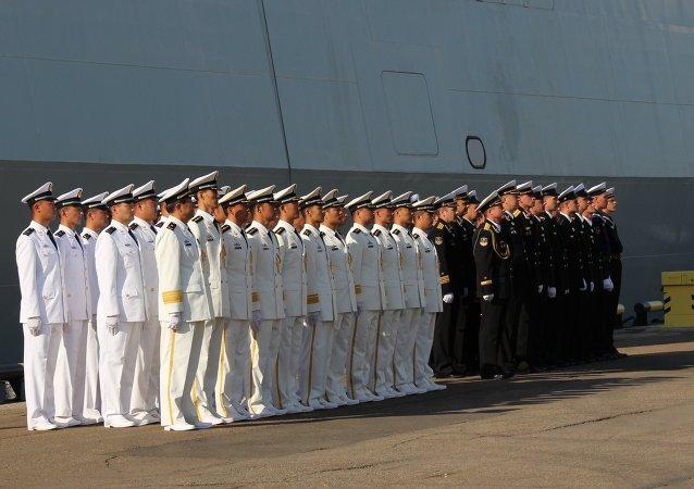 """中国国防部:中俄""""海上联合-2015(II)"""" 军演将于8月20日至28日举行"""