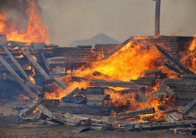 外贝加尔火灾