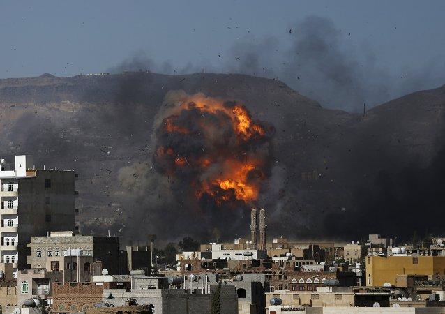 阿拉伯联盟空军恢复对也门什叶派武装的袭击