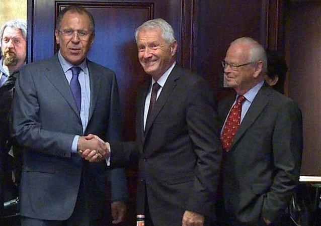 拉夫罗夫同欧洲理事会秘书长商讨乌克兰宪法改革进程