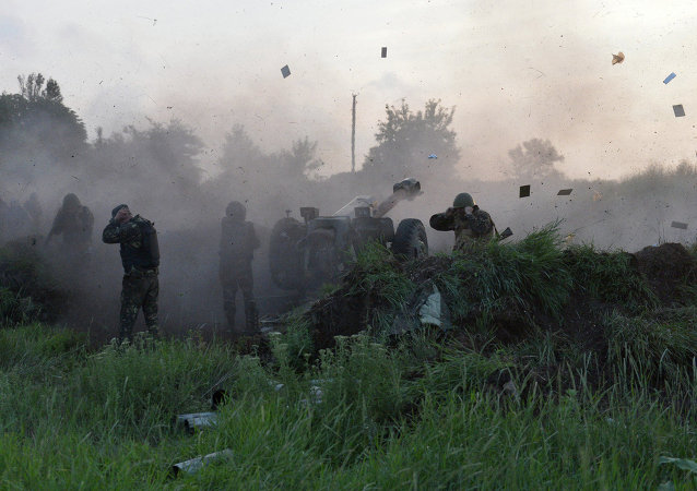 乌停火监控与协调联合中心:政府军正炮击顿涅茨克