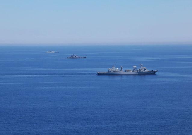 俄中確定在日本海舉行第二階段聯合演習