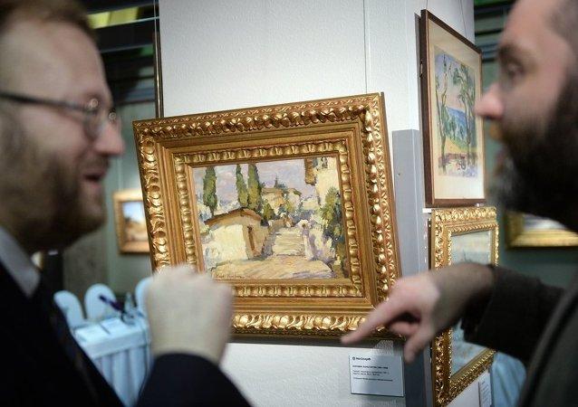 俄油画大师列宾等作品将于北京拍卖 底价为80-180万元人民币