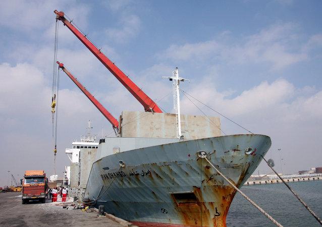"伊朗"" Iran Shahed""号船/资料图片/"