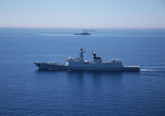 外交学者:俄罗斯与中国舰队将取代美国在亚洲的领先地位