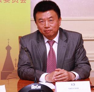 和振伟:中国产业海外发展协会愿同俄方共同支持远东中国企业家