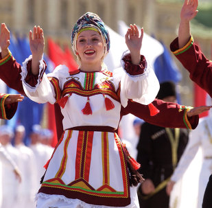 莫斯科紅場——「世界俄羅斯日」活動
