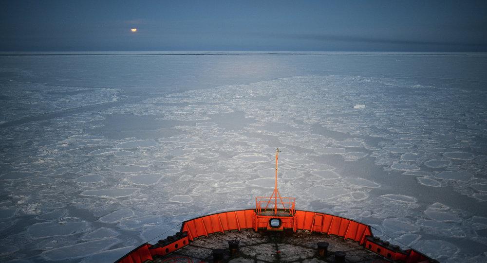 俄科学家称北冰洋岛屿消失见证全球变暖