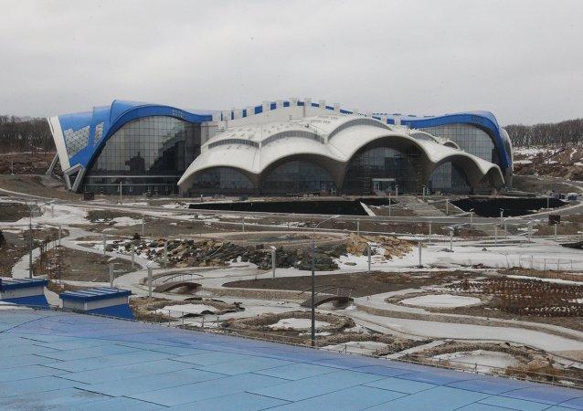 滨海边疆区的俄罗斯岛——海洋水族馆
