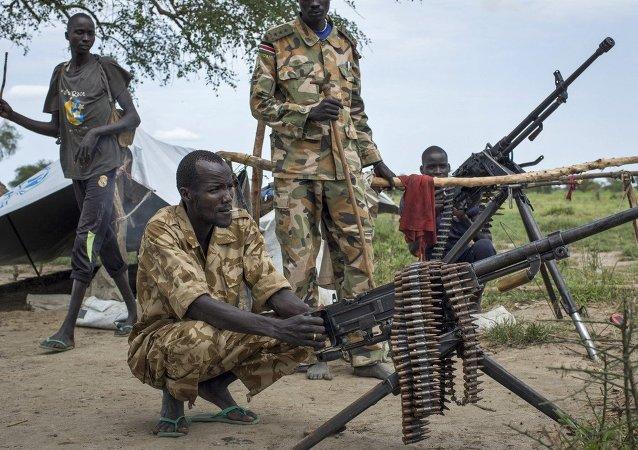 UNICEF:自2013年以来南苏丹已有1.6万名儿童拿起武器