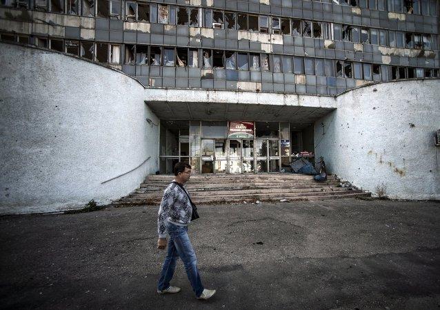 卢甘斯克人民共和国称乌军一昼夜内开火14次