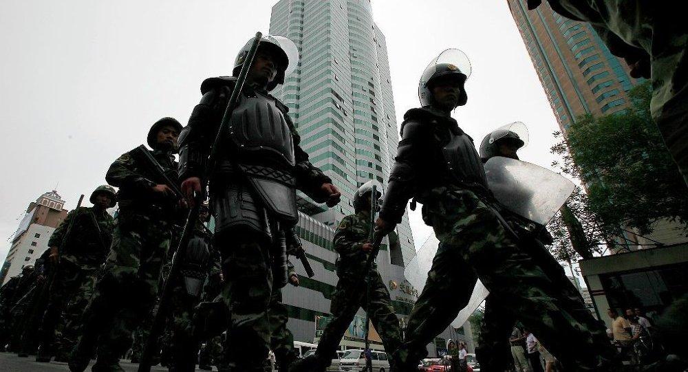中國將嚴厲打擊維族分裂分子