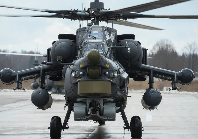 米-28HM攻击直升机