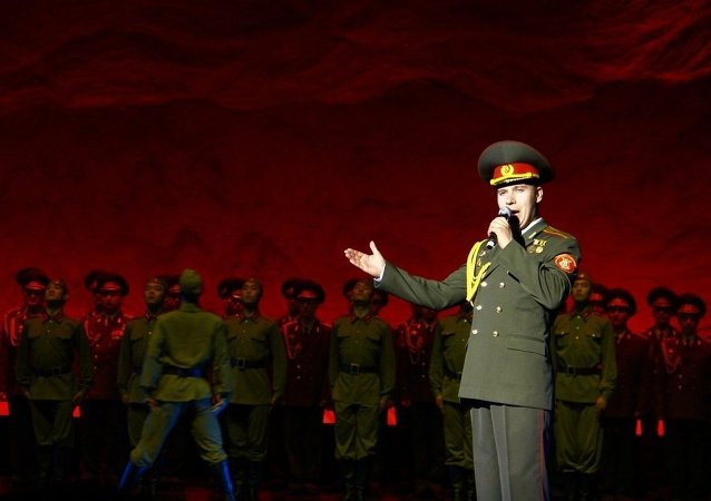俄中大型歌舞晚会