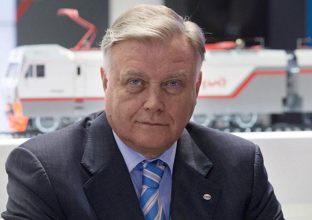 俄铁路公司总裁:一家大型韩国公司希望向俄铁路投资
