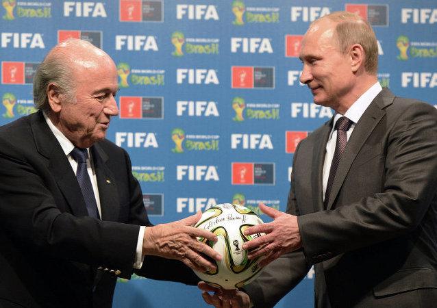 普京:FIFA官员被捕是美国试图将管辖范围扩至他国之举
