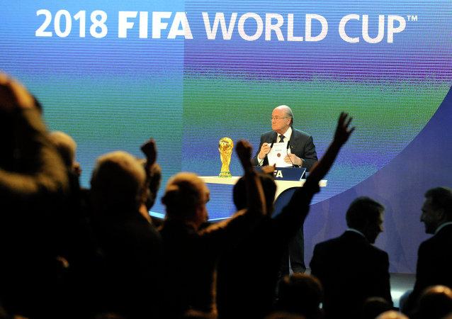 俄体育部长:俄罗斯公平赢得2018世界杯举办权