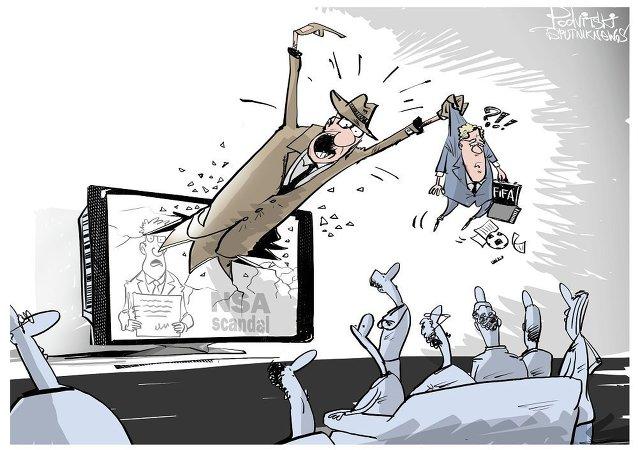 国际足联的贪腐丑闻和德国的间谍丑闻