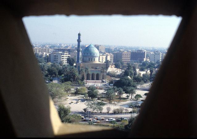 美国国务卿密访巴格达