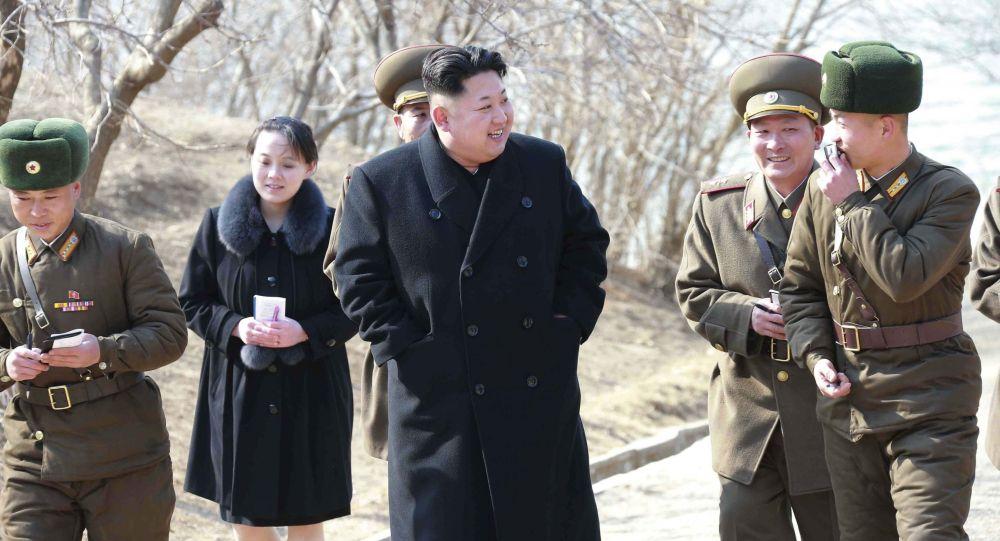 韩媒:金正恩妹妹消失50天后露面 或已产子