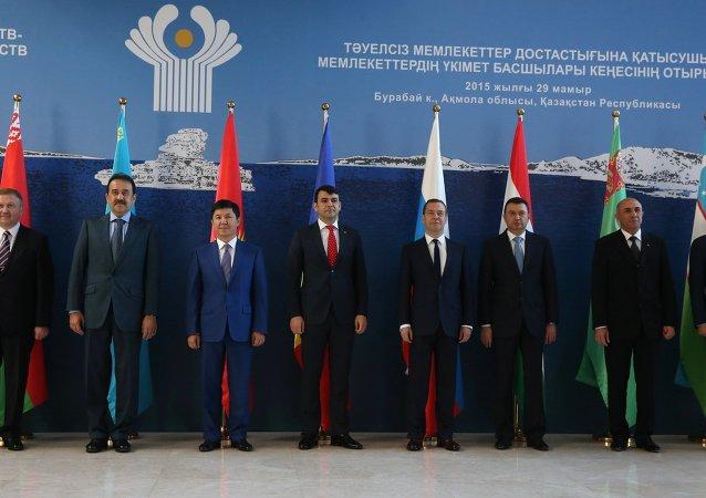 独联体国家政府首脑签署经济领域共同行动计划