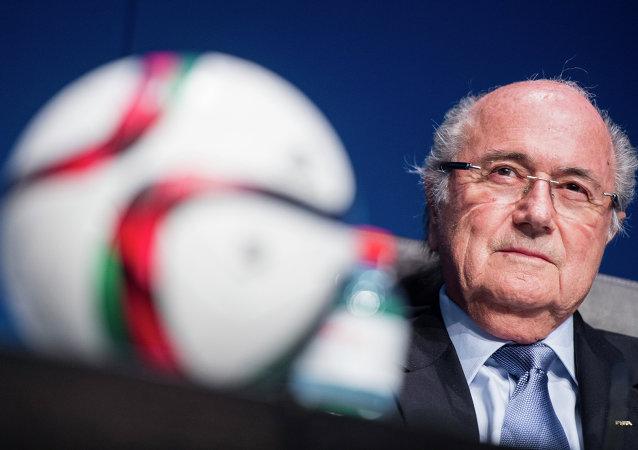 约瑟夫·布拉特再次当选任期四年的国际足联主席