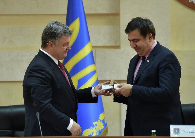 多尔戈夫:任命萨卡什维利为敖德萨州长是乌当局建设基辅式民主的特色