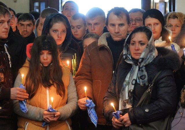 6月1日顿巴斯将举行集会悼念内战中牺牲的儿童