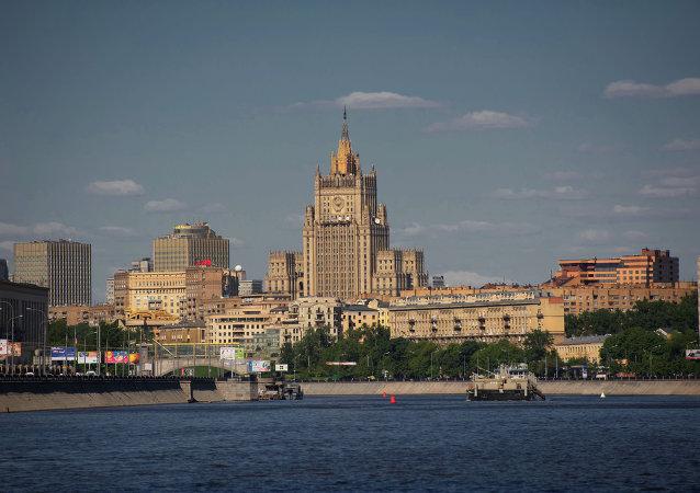 俄外交部:俄不允许外国机构干涉其主权事务