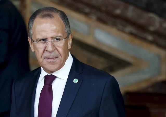 俄外长:俄未曾希望能够公布欧洲人黑名单以避免丑闻升级
