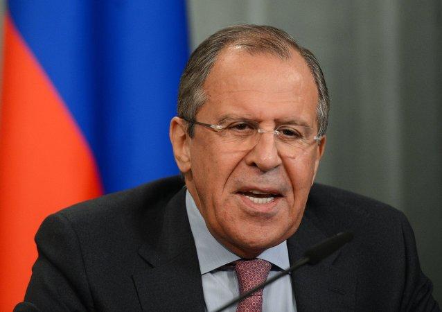 """俄外长:指责俄任意拟定欧洲人""""黑名单""""之举荒谬"""
